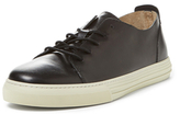 Gucci Leather Lace-Up Low Top Sneaker