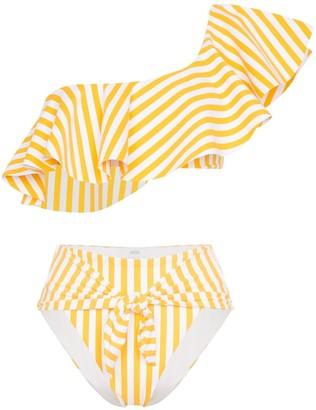 Onia Positano Riviera striped bikini