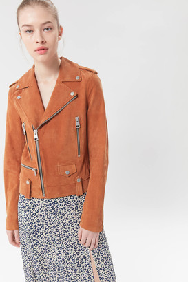 Bagatelle Suede Moto Jacket