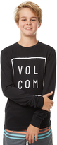 Volcom Boys Flagg Ls Tee Black
