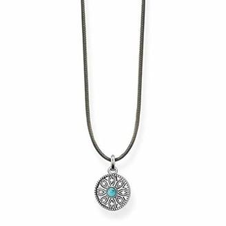 Thomas Sabo Women-Necklace Little Secret Ethnic Amulett 925 Sterling silver LSKE007-378-17-L80v
