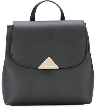 Emporio Armani flap top backpack