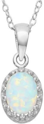 Tiara 1 1/5 TCW Crown Pendant in Sterling Silver