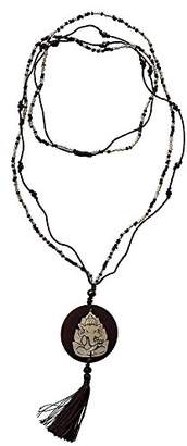 Saraswati Unisex No Metal Pendant Necklace - AC352