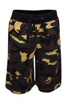 My Mix Trendz Men's Drawstring Camouflage Army Print Sport Gum Shorts with Pockets