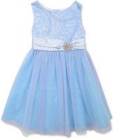 Rare Editions Little Girls' Blue Cinderalla Party Dress