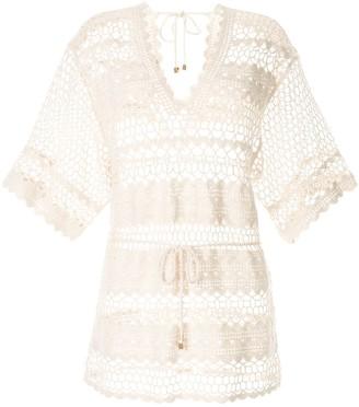 SUBOO Stella crochet kaftan dress