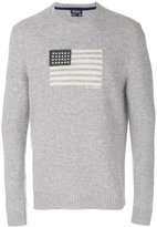 Woolrich jumper with flag