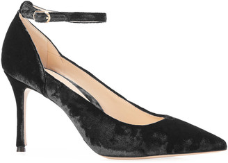 Marion Parke Muse Velvet Pointed Pumps