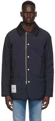 Maison Margiela Black Recycled Nylon Military Jacket