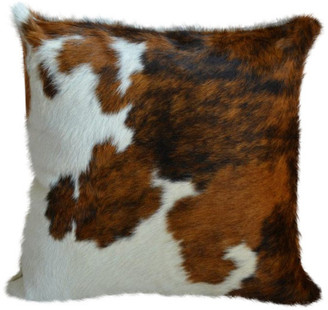 Pergamino Tricolor Cowhide Pillow Covers, Single Sided