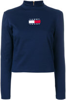 Tommy Jeans mock neck jumper