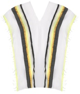 Lemlem Meron multi-stripe cover-up