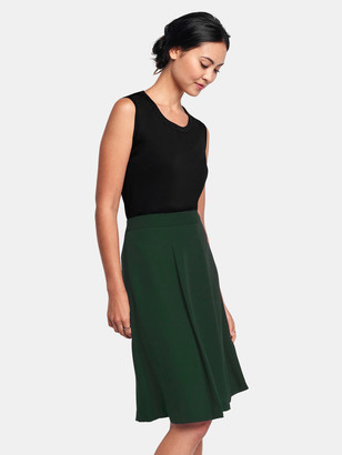 Of Mercer Delancey Skirt - Forest Green