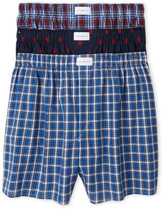 Tommy Hilfiger Plaid Woven Boxer Shorts