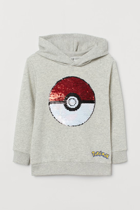 H&M Hoodie with Sequins