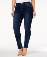 Hydraulic Trendy Plus Size Emma Embellished Slate Wash Skinny Jeans