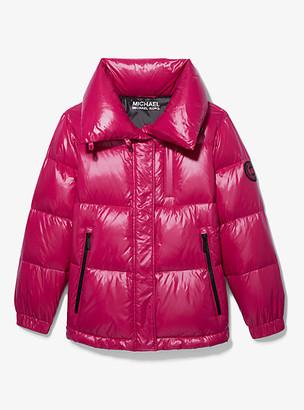 MICHAEL Michael Kors MK Quilted Nylon Puffer Jacket - Black - Michael Kors