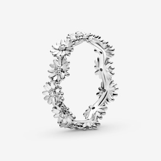 Pandora Sparkling Daisy Flower Crown Ring