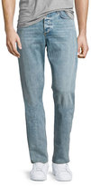 Rag & Bone Standard Issue Fit 2 Mid-Rise Relaxed Slim-Fit Jeans, Blue