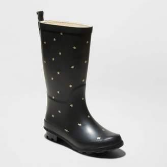 Cat & Jack Girls' Lulani Rain Boots