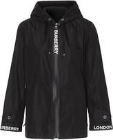 Burberry x ECONYL logo tape jacket