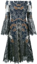 Jonathan Simkhai dimensional off-shoulder lace dress