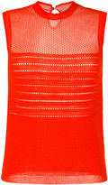 Carven knitted tank top - women - Cotton/Nylon - L