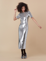 Diane von Furstenberg Tailored Sequin Dress