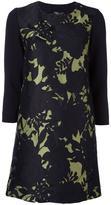 Twin-Set contrast sleeve dress