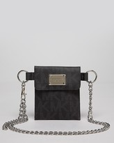 MICHAEL Michael Kors Belt Bag - Logo Chain