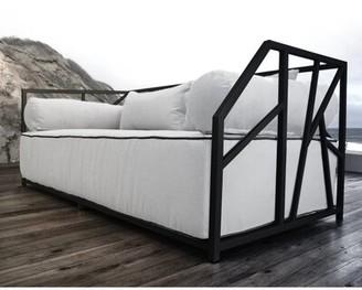 Brayden Studio Snydertown Deep Seated Patio Modern Daybed with Cushions Brayden Studio