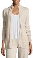 Neiman Marcus Cashmere Zip-Front Jacket