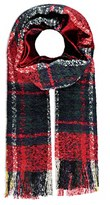 Forever 21 Loop Knit Plaid Scarf