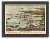 "Americanflat ""Boston Harbor"" Framed Wall Art"