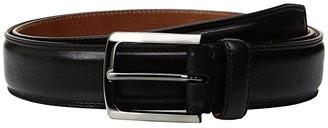 Trafalgar Corso (Black) Men's Belts