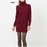 Uniqlo Women Cashmere Turtle Neck Dress
