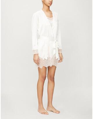 Myla Alma silk-blend robe