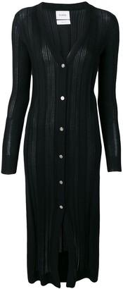 Barrie Ribbed Cardi-Coat