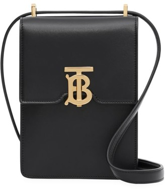 Burberry Valencia TB Leather Crossbody Pouch