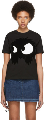 McQ Black Mad Chester T-Shirt