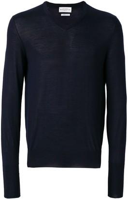 Ballantyne V-neck fited sweater