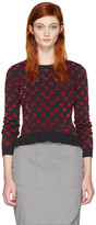 Altuzarra Black Clifton Cherry Sweater