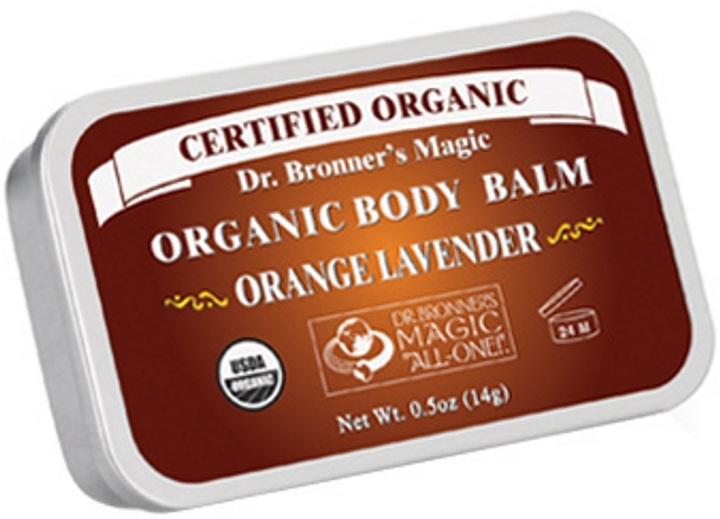 Dr. Bronner's Orange Lavender Body Balm by 0.5oz Balm)