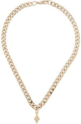 Marcelo Burlon County of Milan Cross chunky chain necklace