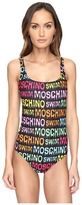 Moschino Print Maillot Women's Swimsuits One Piece