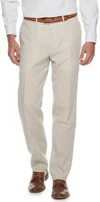 Kroon Men's Modern-Fit Linen Suit Pants
