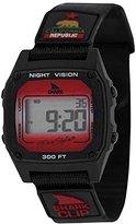 Freestyle Unisex 10027426 Shark Digital Display Japanese Quartz Black Watch