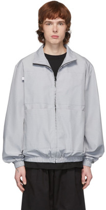 Xander Zhou Grey Zip-Up Jacket