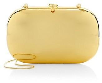 JEFFREY LEVINSON Elina PLUS 18K Goldplated Mirrored Clutch